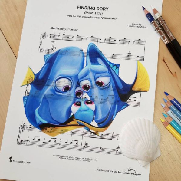Finding Dory [feat. Charlie, Jenny & Dory] (Music by DoughtyCreARTive @Instagram) #FindingDory
