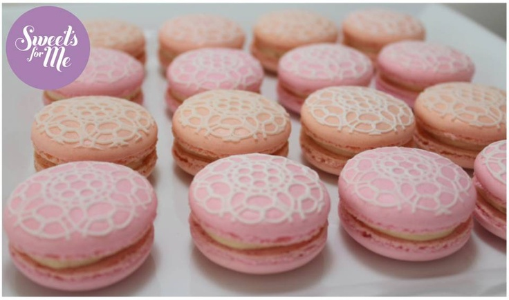 pink peach macarons rose - photo #41