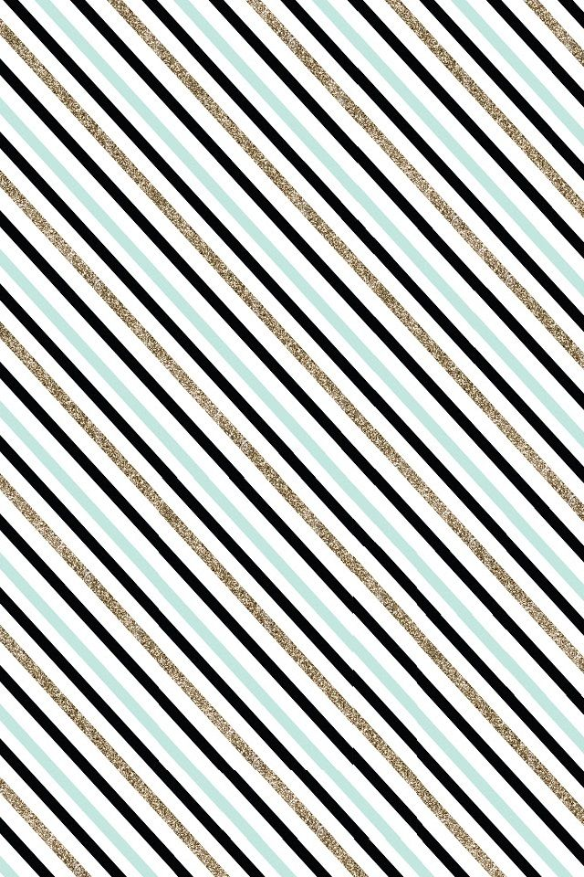 iphone 4s wallpaper glitter, teal, and black stripes