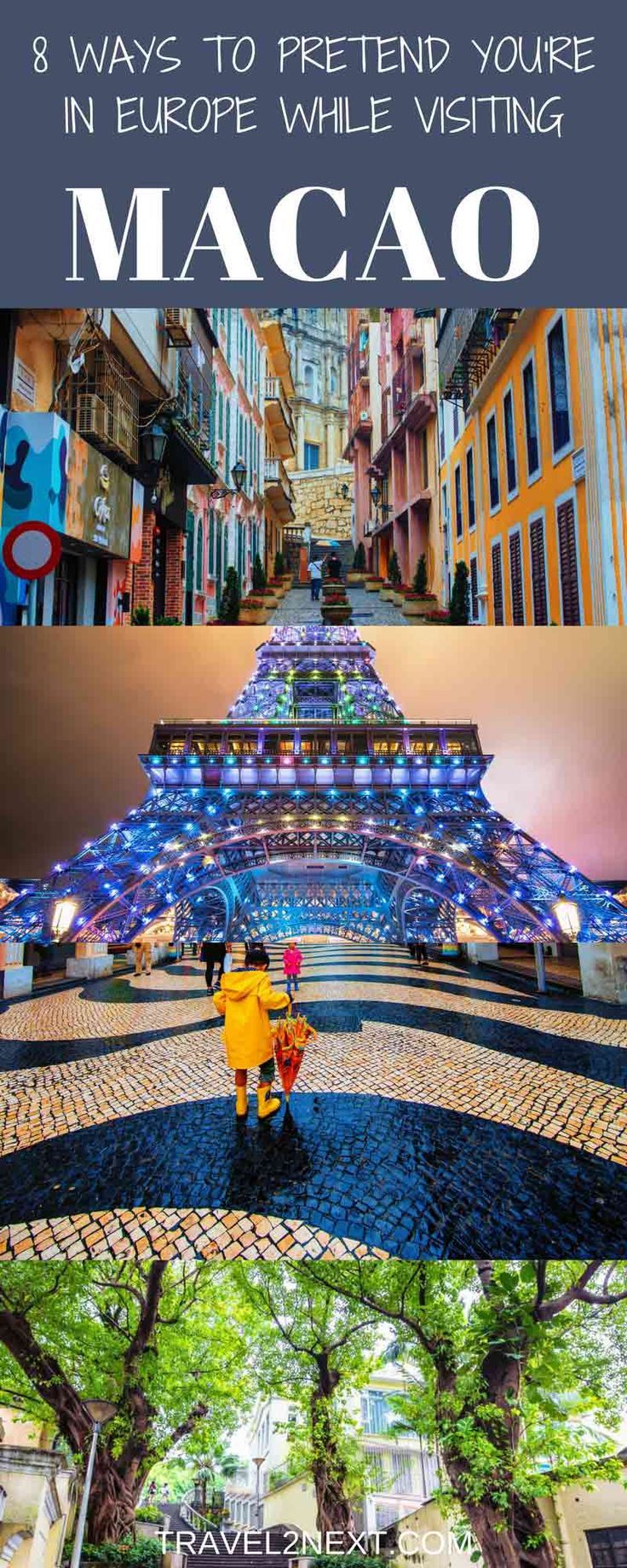 8 ways to pretend you're in Europe while in Macao. Walking through Macao's European-style squares and passing the beautiful churches, you can almost believe you're exploring a city in Europe.