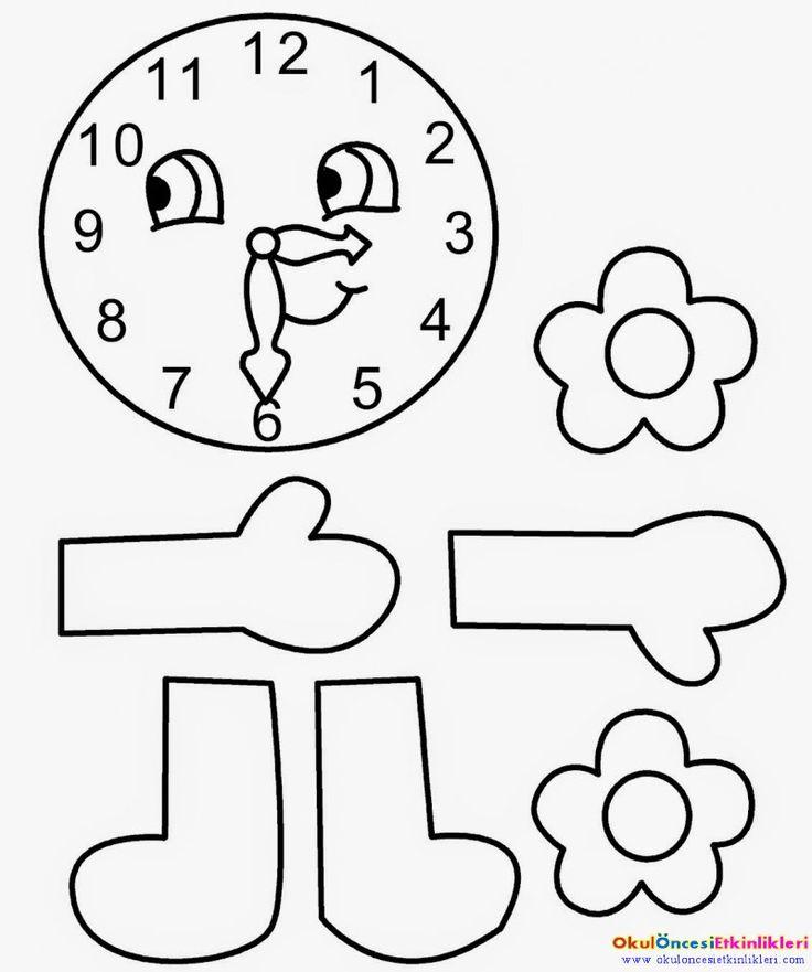 çocuklara saat kavrami nasil öğretilir?