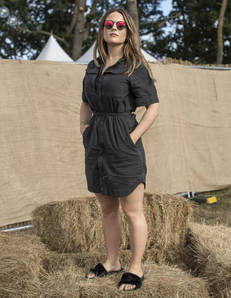 Joanna Jojo Levesque at V Festival at Weston Park in Stafford UK Aug-2016 Celebstills J Joanna Jojo