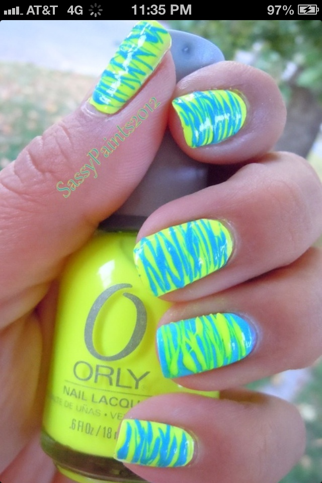 30 best Neon nails images on Pinterest | Neon nails, Nail art and ...