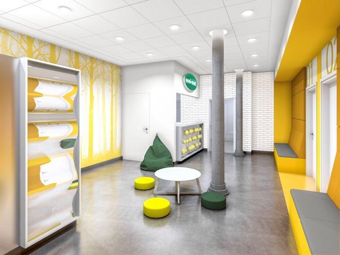 Enel-Med clinic for children in Manufaktura Shopping Mall in Łódź