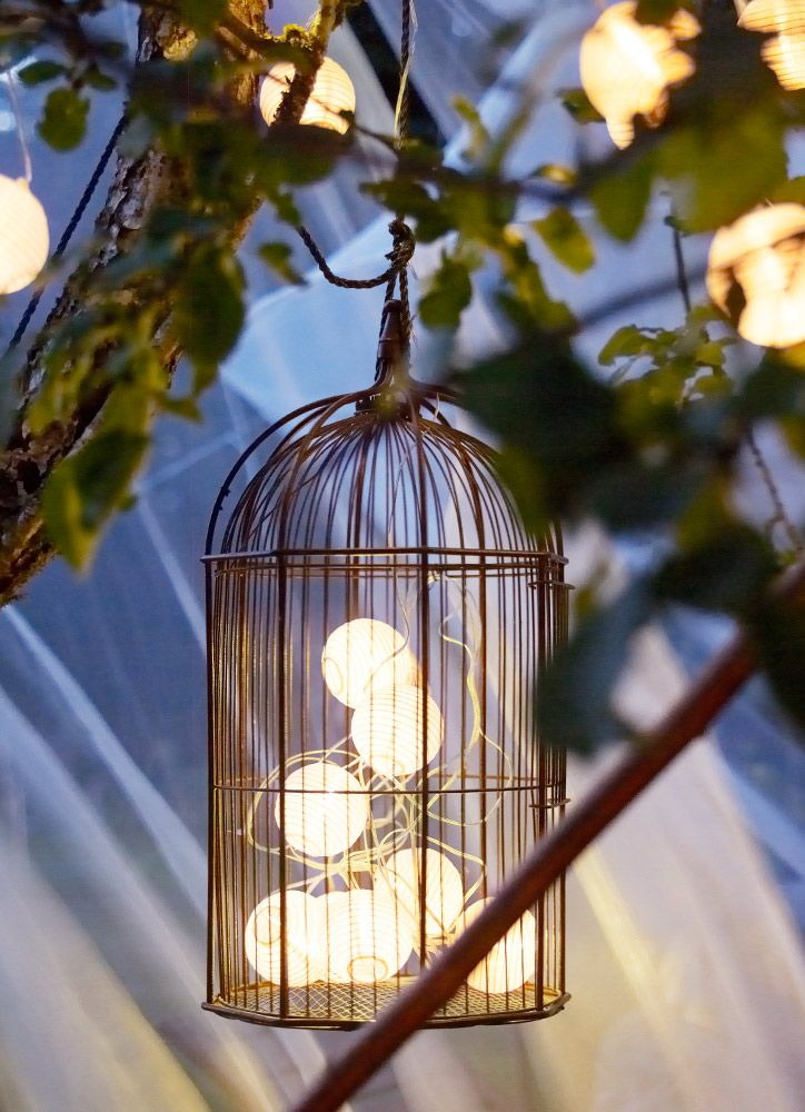 Good Find This Pin And More On Decoracion. IKEA Birdcage And Solar Lights