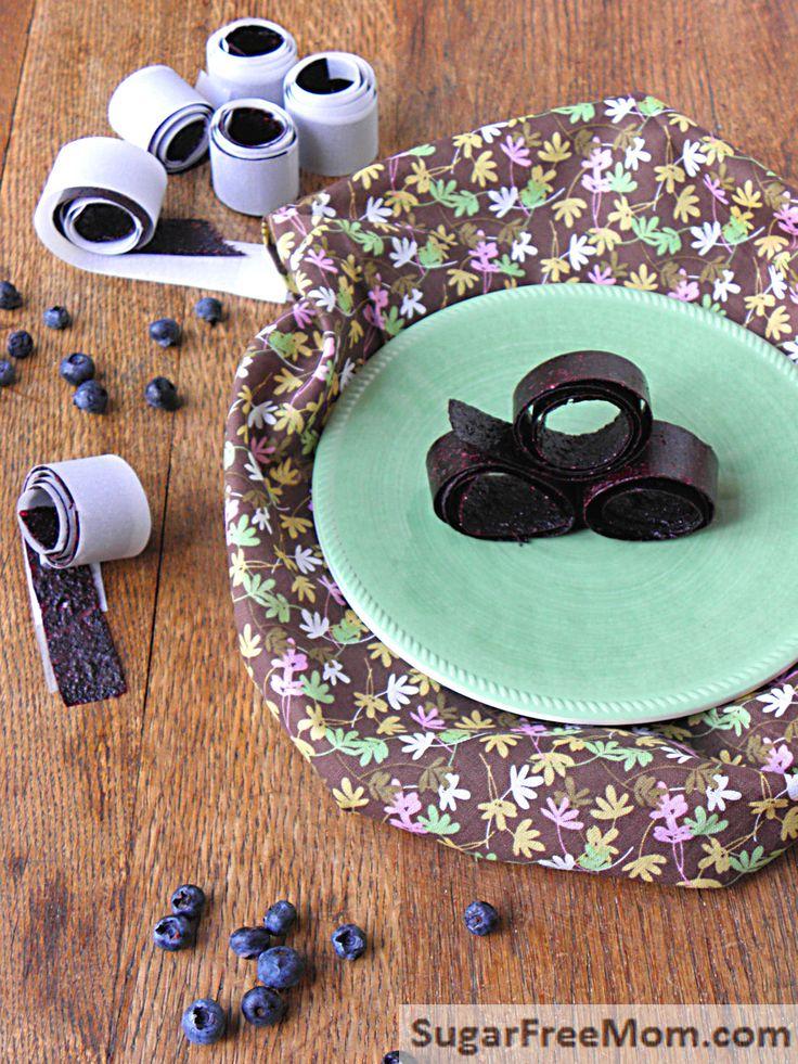 Rouleaux aux fruits aux bleuets - www.lafruiteraie.com