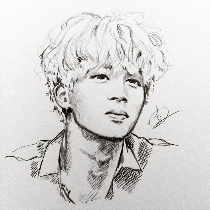 Jimin #BTS - Wow This Is Amazing - Credits To Owner | Sketchinu0026#39; | BTS Bts Drawings Bts Jimin