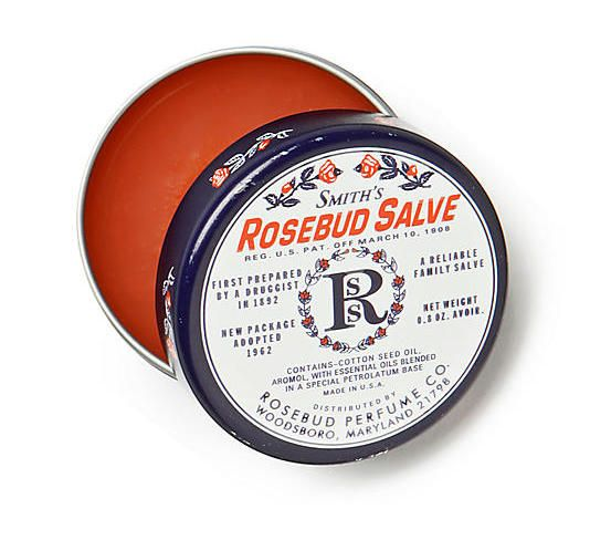 Smith's Rosebud Salve: A great affordable lip balm option that feels way more expensive than it is