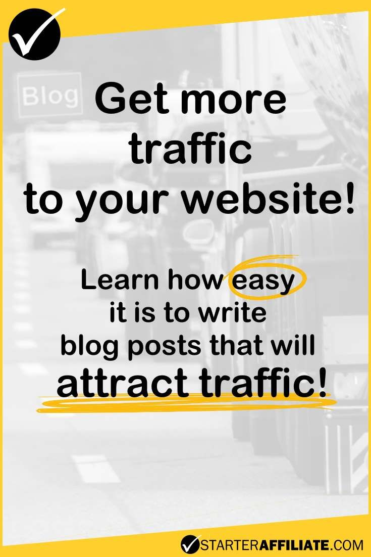 Find out how to get more traffic to your website by writing better blog posts. It is not as difficult as you may think.