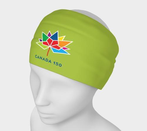 Canada 150 Green Headband