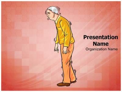 Old Age Parkinson Disease Powerpoint Template is one of the best ...