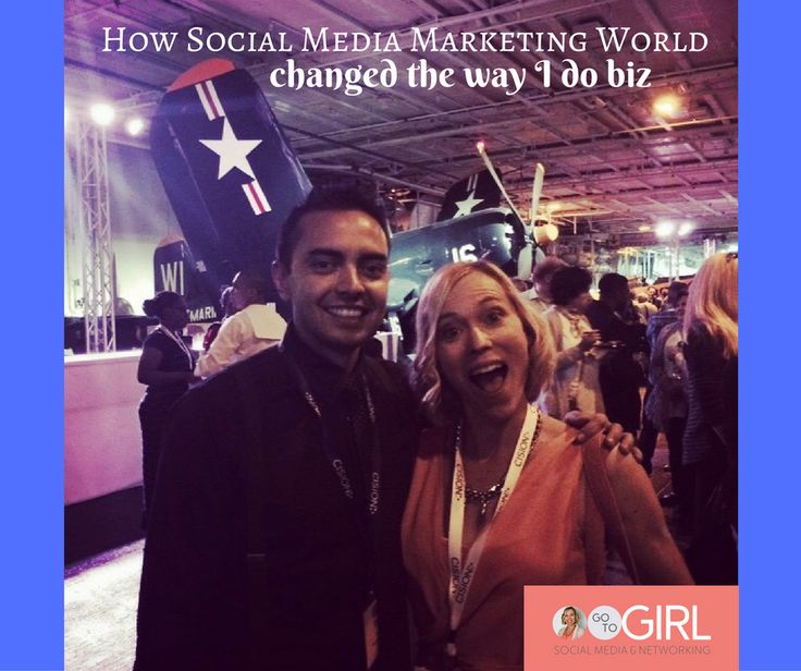 Attending big Conferences in the area of your niche can massively impact your business.  The connections, the insight, the mindset... http://www.gotogirl.co.nz/smmw17/ Here's how Social Media Marketing World changed the way I do biz.