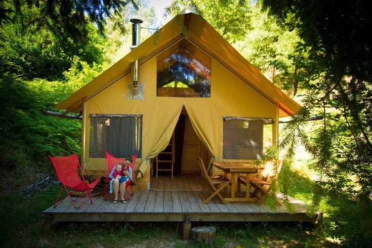 3 types de cabanes avec confort - St Jean de Gard Réservation dernière minute intéressante