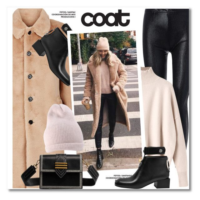 """""""Cool coat"""" by paculi ❤ liked on Polyvore featuring Burberry and statementcoats"""