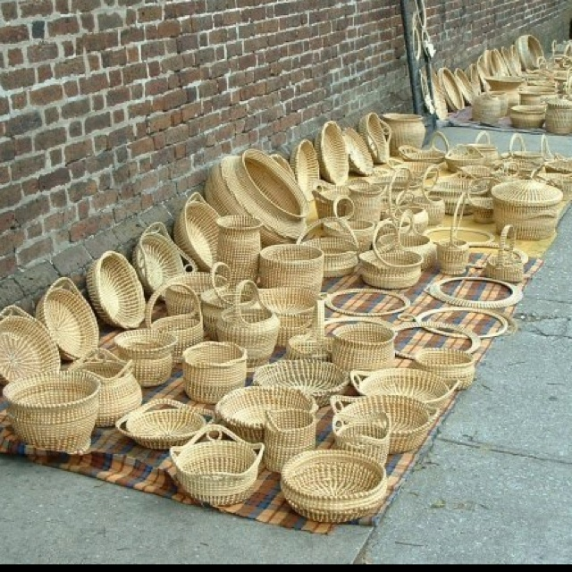 How To Weave A Sweetgrass Basket : Best sweetgrass baskets images on