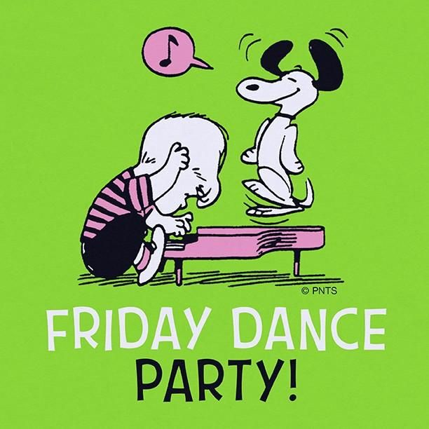 Doing the Friday Happy Dance!!