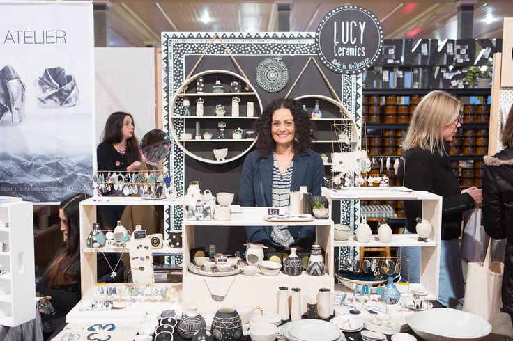 Image features Lucy Ceramics as captured by Mark Lobo at our Melbourne, AW16 Market.