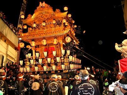 日本三大曳山祭り「秩父夜祭り