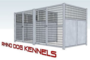 Heavy Duty Indoor/Outdoor Multi-Run Dog Kennel 6'W x 6'L x 6'H – Heavy Duty Pet Crates