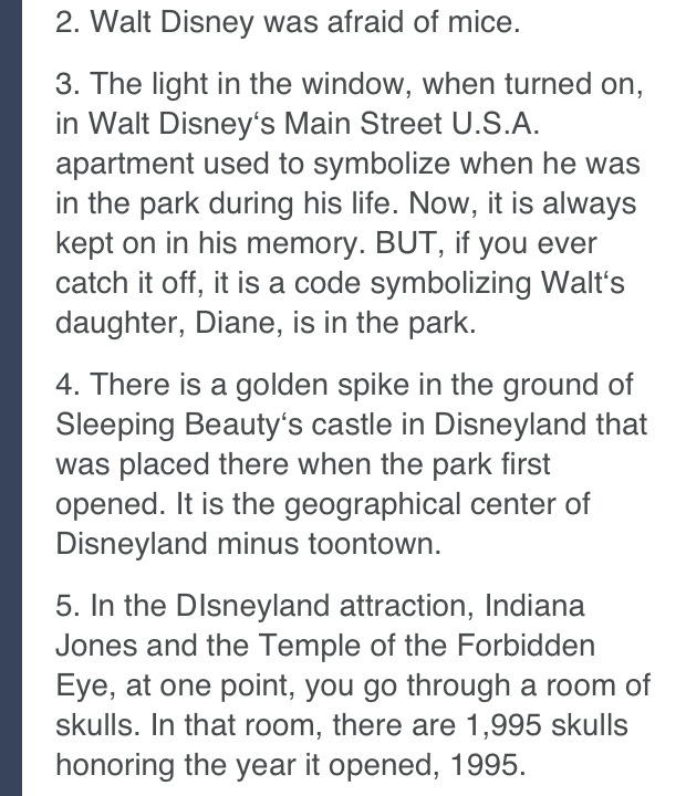 I knew 3 and 4 already but didn't know 2 and 5!