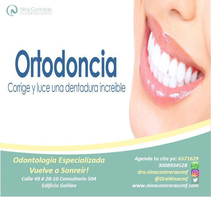 Cuida tu sonrisa - Especialistas en Ortodoncia Atrévete a generar cambios y déjanos conocer tu caso: 6571629 - WhatsApp: 3008934528 http://ninacontrerascmf.com/