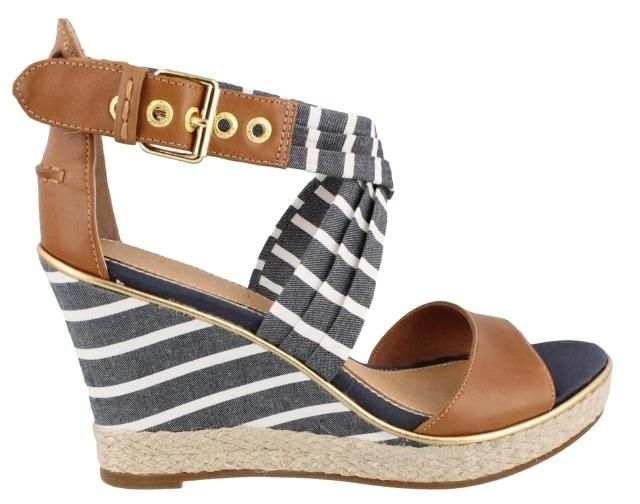 Image result for black sperry wedge