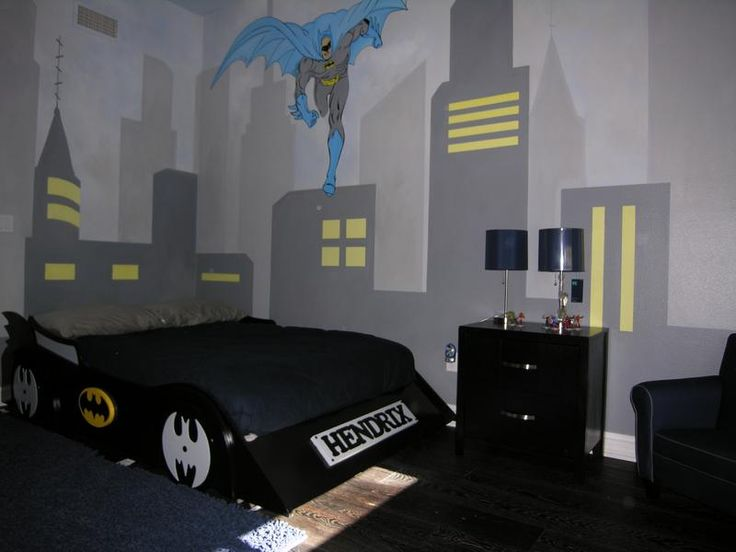 batman room ideas | Contact us today to learn more about our Batman collection and our ...