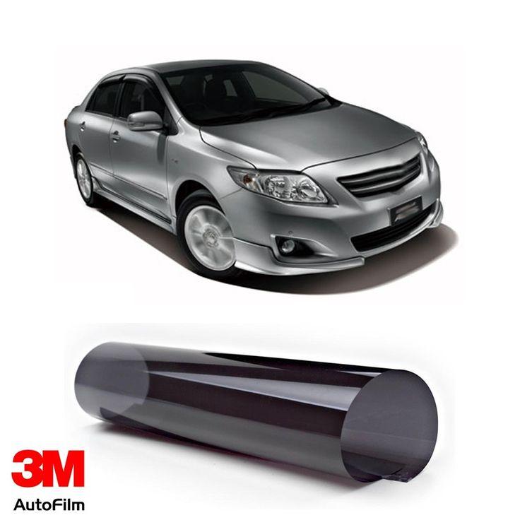 3M Auto Film / Kaca Film Mobil - Paket Medium Titanium u/ Toyota Altis  - Paket 3M Auto Film tipe Crystalline u/ kaca depan, kaca samping, & kaca belakang - Menahan 99.9% sinar UV, Setara SPF 1000 - Tidak mengandung metal. http://tigaem.com/paket-titanium/1971-3m-auto-film-kaca-film-mobil-paket-medium-titanium-u-toyota-altis.html  #paketmediumplatinum #autofilm #kacafilm #kacamobil #toyota #altis #3M