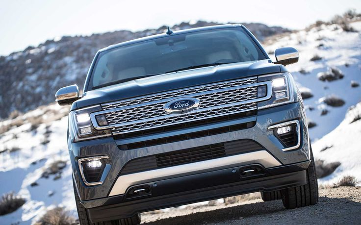 2018 Ford Expedition revealed! This large SUV was just shown at the Chicago Auto Show. Thanks to an aluminum body it's lost 300 pounds.