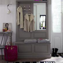 Фотография: Прихожая в стиле Кантри, Современный, Интерьер комнат, Системы хранения, храним обувь – фото на InMyRoom.ru