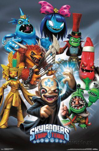 Skylanders - Trap Team Baddies Plakat