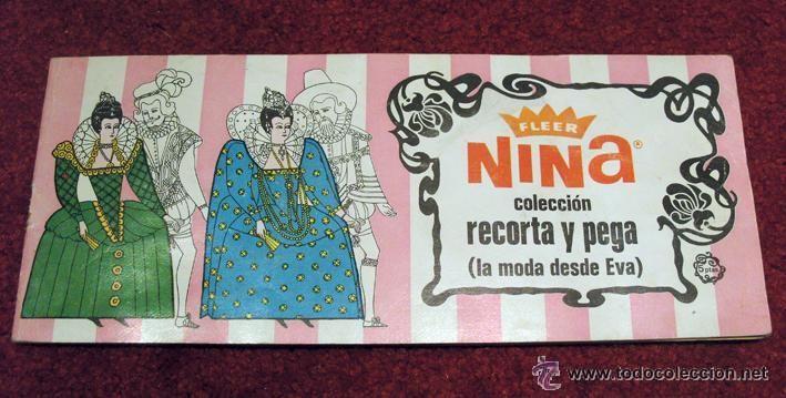 ALBUM 1968 BUEN ESTADO CHICLES FLEER NINA. LA MODA DESDE EVA. COMPLETO. RUIZ ROMERO (Coleccionismo - Cromos y Álbumes - Álbumes Completos)