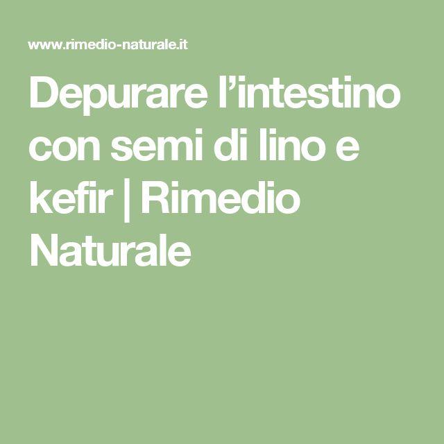 Depurare l'intestino con semi di lino e kefir | Rimedio Naturale