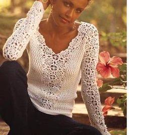 https://cristinamycrochet.wordpress.com/2013/10/08/some-tops-blouse-short-and-long-sleeves/  12065749_10204658767260109_6052948166343810624_n.jpg (833×768)