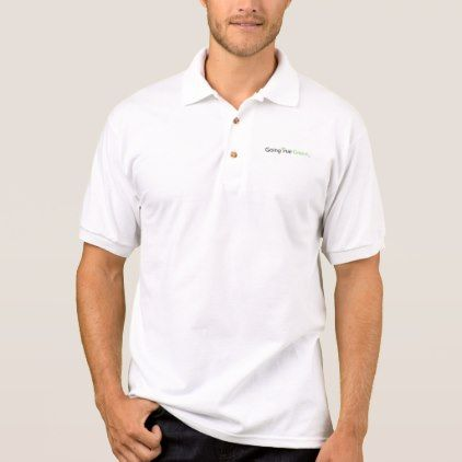 Going True Green Polo Shirt  $24.00  by GoingTrueGreen  - cyo customize personalize unique diy idea