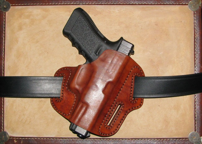 How to make a leather holster for pistol.