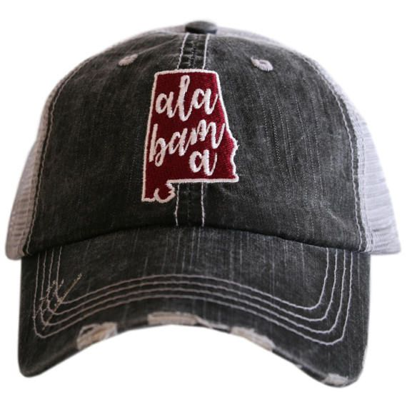 Alabama University of Alabama Crimson  Pride Trucker Hats