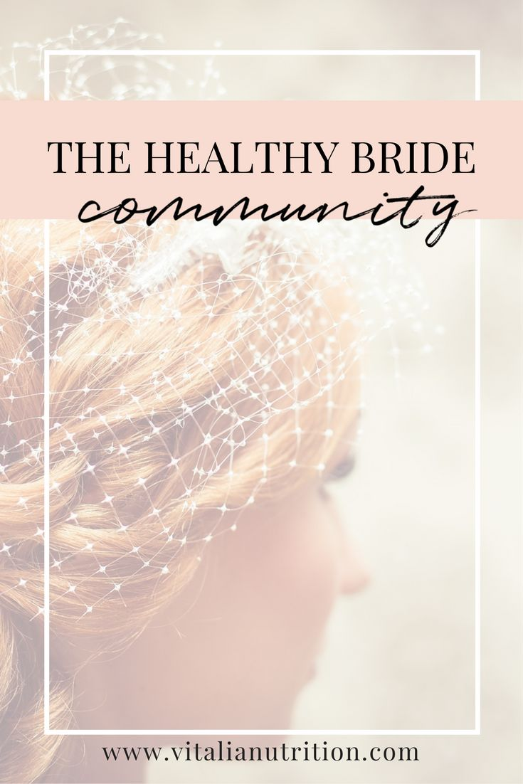 your virtual wellness bridal party.✨