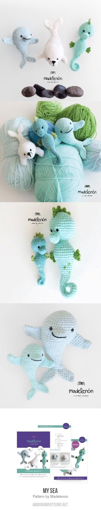 My Sea Amigurumi Pattern. Hypocampe