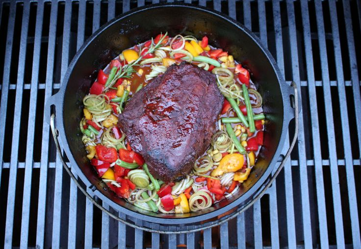 Adventlicher Rinderbraten aus dem Dutch Oven - Powered by @ultimaterecipe
