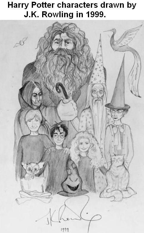 Reasons I love this: Harry's scar is  a lot more obvious than in the movies, Hermione's teeth are actually large and obtrusive like in the book, and Ron is thin, gangly, and has a long nose