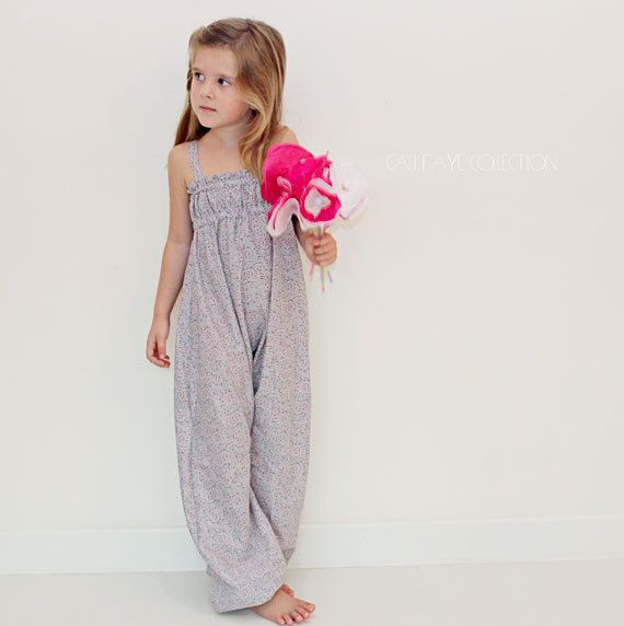 The Marina Romper PDF pattern and tutorial, sizes 2t - 10, childrens sewing pattern, instant download