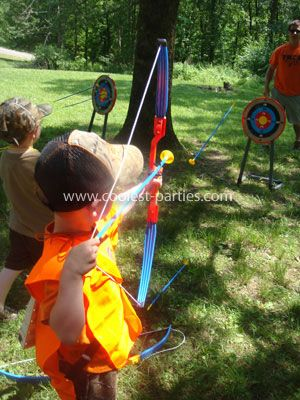 Hunting Birthday Party Ideas: When my grandson Cruz was turning 4 years old, he told us he wanted to have a hunting birthday party.  At first, we were puzzled how to accomplish a hunting