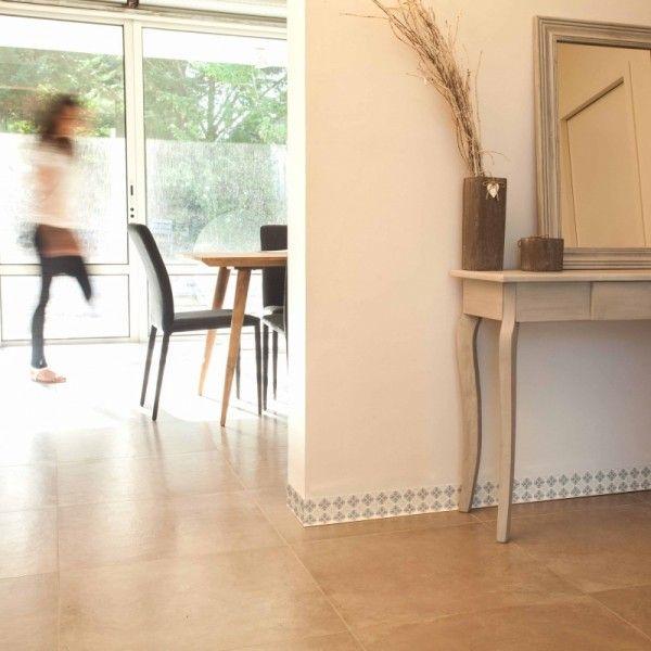 Le Carrelage Adhésif Carreaux de Ciment : Un Relooking Facile & Pas Cher