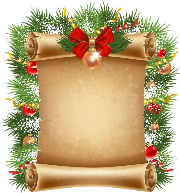 98 best FRAMES images on Pinterest  Christmas border Clip art