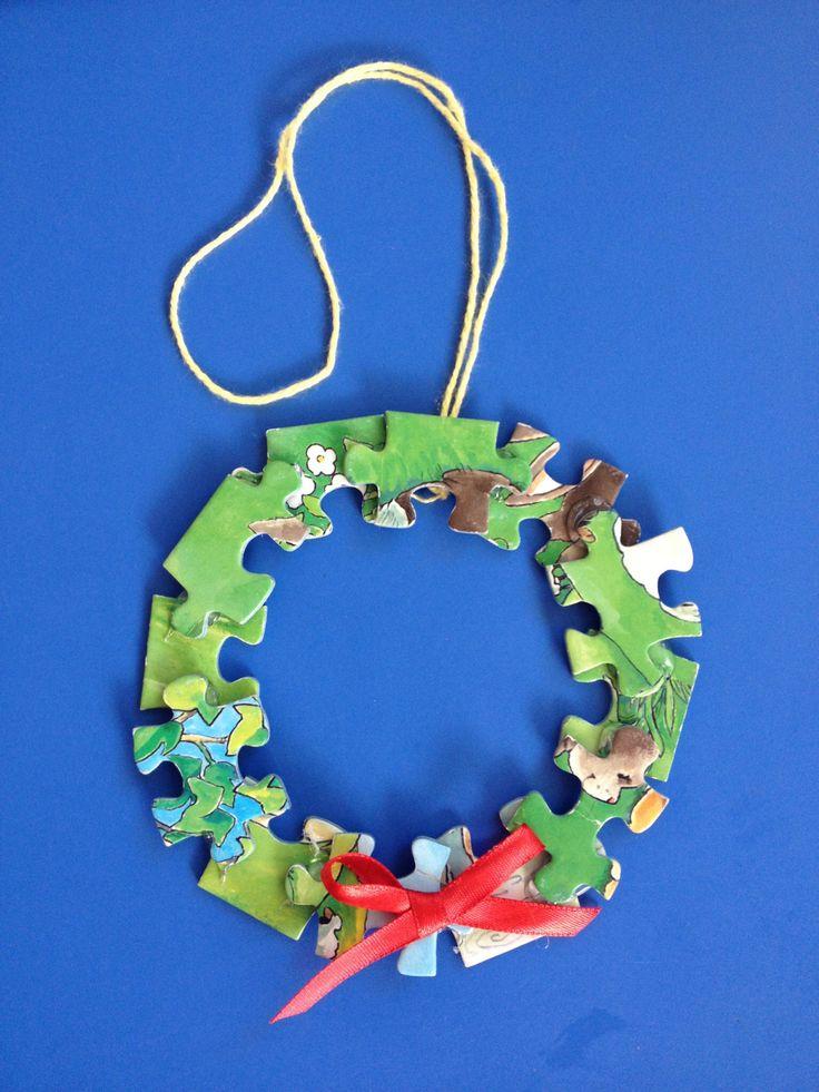 15 best images about kids crafts manualidades para ni os - Coronas de navidad ...