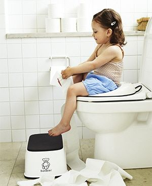 Step Stool Is Super Helpful With Potty Training To Give