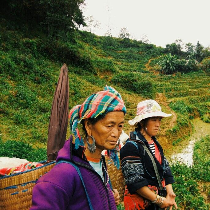 Black H'mong in Sapa #Vietnam