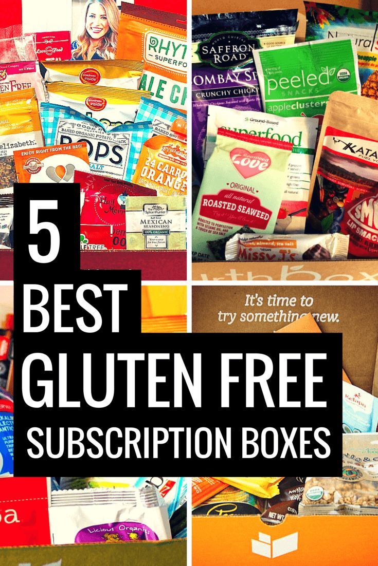 Receive a box that will make you love being gluten free more and more every month.