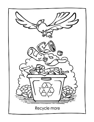 Free Earth Day Coloring Sheets